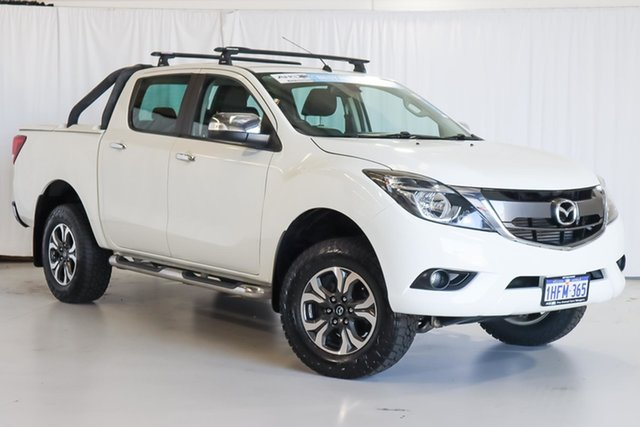 Used Mazda BT-50 UR0YG1 GT Wangara, 2016 Mazda BT-50 UR0YG1 GT White 6 Speed Sports Automatic Utility