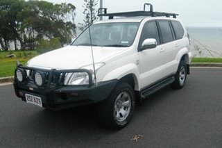 2009 Toyota Landcruiser Prado KDJ120R GX White 6 Speed Manual Wagon