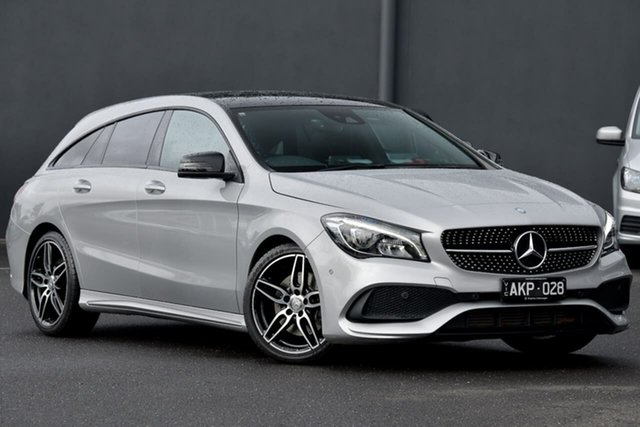 Used Mercedes-Benz CLA-Class C117 807MY CLA220 d DCT Moorabbin, 2016 Mercedes-Benz CLA-Class C117 807MY CLA220 d DCT Silver 7 Speed Sports Automatic Dual Clutch