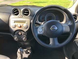 2012 Nissan Micra K13 ST Silver 4 Speed Automatic Hatchback