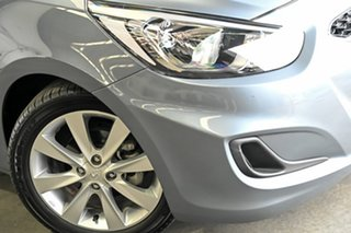 2017 Hyundai Accent RB5 MY17 Sport Silver 6 Speed Sports Automatic Sedan.