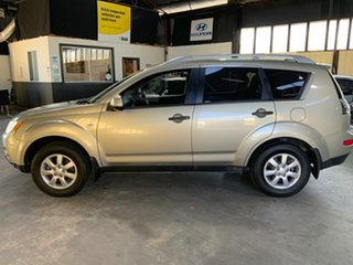 2007 Mitsubishi Outlander ZG MY08 LS Gold 5 Speed Manual Wagon