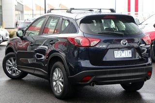 2014 Mazda CX-5 KE1071 MY14 Maxx SKYACTIV-Drive Sport Blue 6 Speed Sports Automatic Wagon.