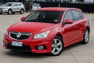 2012 Holden Cruze JH Series II SRi-V Red Sports Automatic Sedan.