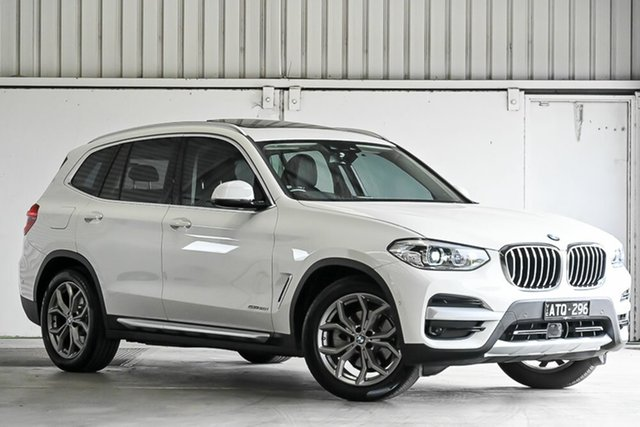 Used BMW X3 G01 sDrive20i Steptronic Laverton North, 2018 BMW X3 G01 sDrive20i Steptronic White 8 Speed Automatic Wagon