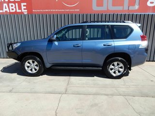 2011 Toyota Landcruiser Prado KDJ150R GXL Blue 5 Speed Sports Automatic Wagon
