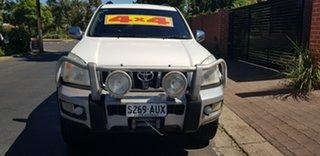 2008 Toyota Landcruiser Prado KDJ120R 07 Upgrade GXL (4x4) White 6 Speed Manual Wagon