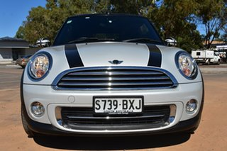 2013 Mini Cabrio R57 LCI Cooper Steptronic Silver 6 Speed Sports Automatic Convertible