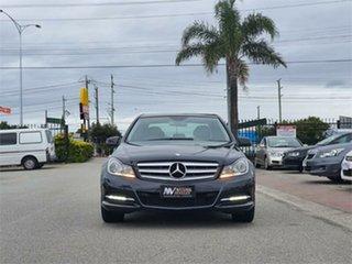 2011 Mercedes-Benz C-Class W204 MY11 C300 BlueEFFICIENCY 7G-Tronic + Avantgarde Black 7 Speed.