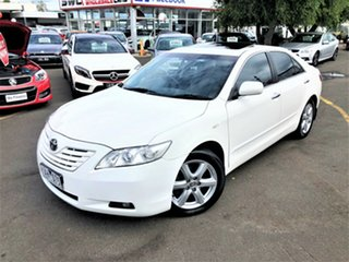 2008 Toyota Camry ACV40R Grande White 5 Speed Automatic Sedan.