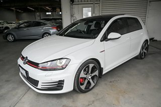 2015 Volkswagen Golf VII MY16 GTi White 6 Speed Manual Hatchback
