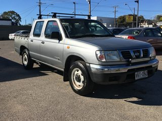 2001 Nissan Navara D22 MY2002 ST 4x2 5 Speed Manual Utility.