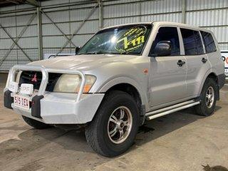 2001 Mitsubishi Pajero NM GLX Plus Silver 5 Speed Manual Wagon.