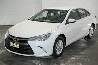 2016 Toyota Camry ASV50R Altise White 6 Speed Sports Automatic Sedan.