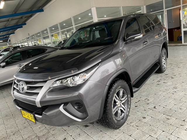Used Toyota Fortuner GX Taree, 2016 Toyota Fortuner GX Grey Automatic Wagon