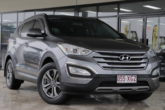 Used Hyundai Santa Fe DM MY14 Active Rocklea, 2014 Hyundai Santa Fe DM MY14 Active Graphite 6 Speed Sports Automatic Wagon