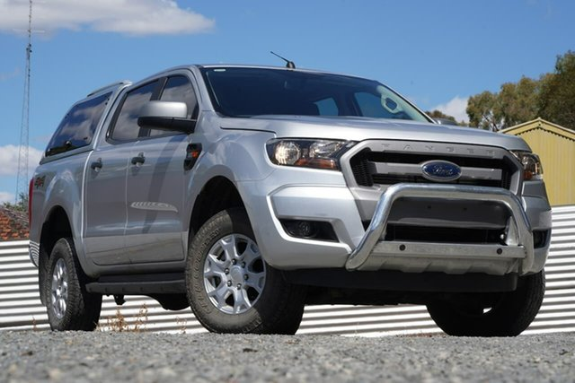 Used Ford Ranger PX MkII XLS Double Cab Clare, 2017 Ford Ranger PX MkII XLS Double Cab Silver 6 Speed Sports Automatic Utility