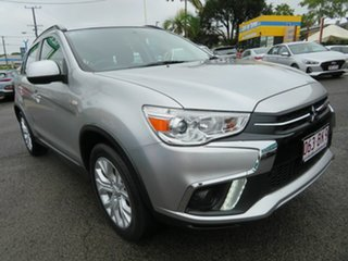2019 Mitsubishi ASX XC MY19 ES 2WD Silver 1 Speed Constant Variable Wagon.