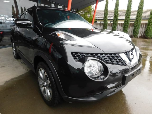 Pre-Owned Nissan Juke F15 Series 2 ST 2WD Wonthaggi, 2015 Nissan Juke F15 Series 2 ST 2WD Black 6 Speed Manual Hatchback