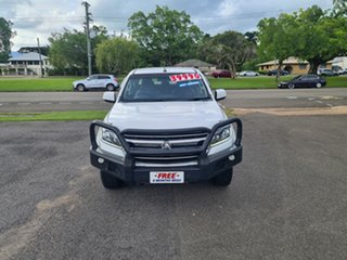 2017 Holden Colorado RG LS Summit White 6 Speed Automatic Crewcab.