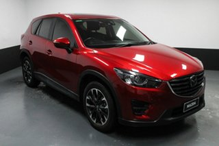 2015 Mazda CX-5 KE1032 Akera SKYACTIV-Drive AWD Red 6 Speed Sports Automatic Wagon.