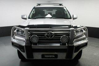 2016 Toyota Landcruiser VDJ200R GXL Silver 6 Speed Sports Automatic Wagon.