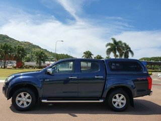 2014 Isuzu D-MAX MY14 LS-U Crew Cab Blue 5 Speed Sports Automatic Utility