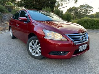 2016 Nissan Pulsar B17 Series 2 ST-L Red/Black 1 Speed Constant Variable Sedan.