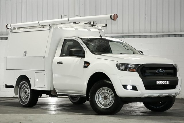 Used Ford Ranger PX MkII XL West Gosford, 2016 Ford Ranger PX MkII XL White 6 Speed Sports Automatic Cab Chassis