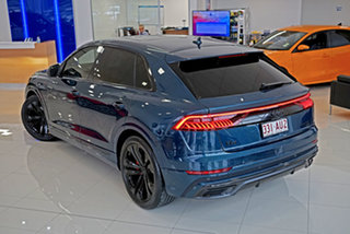 2019 Audi Q8 4M F1 MY20 55 TFSI Tiptronic Quattro Blue 8 Speed Sports Automatic Wagon.