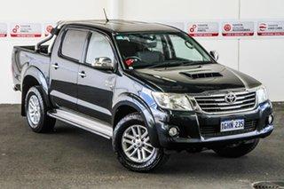 2013 Toyota Hilux KUN26R MY12 SR5 (4x4) Metal Storm 4 Speed Automatic Dual Cab Pick-up.