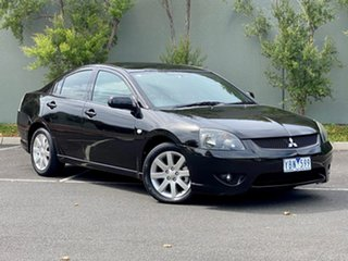 2006 Mitsubishi 380 DB Series 2 VR-X Black 5 Speed Sports Automatic Sedan.