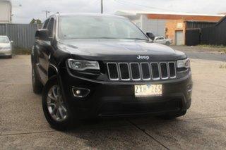 2013 Jeep Grand Cherokee WK MY13 Laredo (4x4) Black 5 Speed Automatic Wagon.