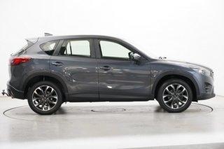 2015 Mazda CX-5 KE1022 Grand Touring SKYACTIV-Drive AWD Grey 6 Speed Sports Automatic Wagon