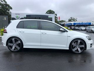 2016 Volkswagen Golf VII MY16 R DSG 4MOTION White 6 Speed Sports Automatic Dual Clutch Hatchback.