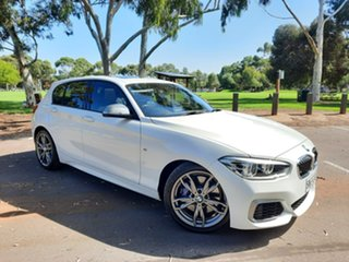 2016 BMW 1 Series F20 LCI M140i White 8 Speed Sports Automatic Hatchback.