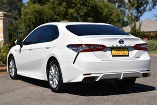 2018 Toyota Camry AXVH71R Ascent Sport White 6 Speed Constant Variable Sedan Hybrid