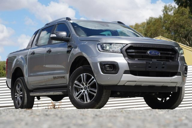 Used Ford Ranger PX MkIII 2020.25MY Wildtrak Clare, 2020 Ford Ranger PX MkIII 2020.25MY Wildtrak Silver 10 Speed Sports Automatic Double Cab Pick Up
