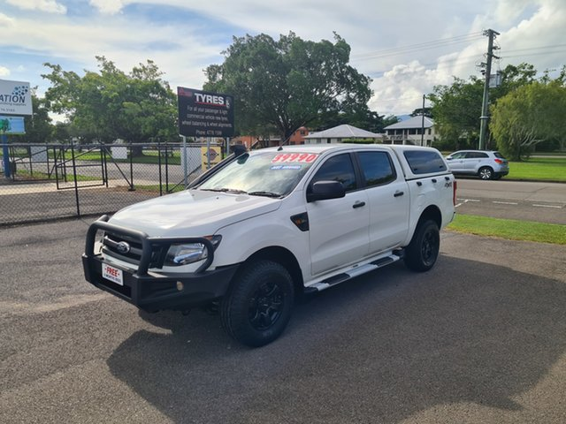 Used Ford Ranger PX XL Ingham, 2015 Ford Ranger PX XL White 6 Speed Automatic Double Cab