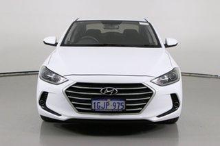 2017 Hyundai Elantra AD Active 2.0 MPI White 6 Speed Automatic Sedan.