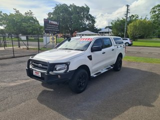 2015 Ford Ranger PX XL White 6 Speed Automatic Double Cab