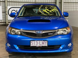 2009 Subaru Impreza G3 MY09 WRX AWD Blue 5 Speed Manual Hatchback