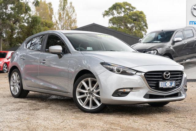 Used Mazda 3 BN5438 SP25 SKYACTIV-Drive GT Mornington, 2016 Mazda 3 BN5438 SP25 SKYACTIV-Drive GT 45p 6 Speed Sports Automatic Hatchback