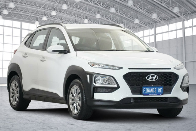 Used Hyundai Kona OS.2 MY19 Go 2WD Victoria Park, 2019 Hyundai Kona OS.2 MY19 Go 2WD White 6 Speed Sports Automatic Wagon