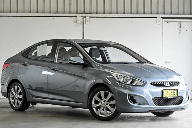 Used Hyundai Accent RB5 MY17 Sport Laverton North, 2017 Hyundai Accent RB5 MY17 Sport Silver 6 Speed Sports Automatic Sedan