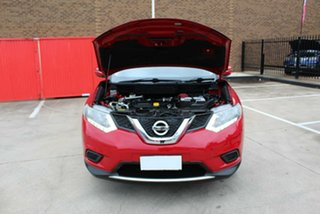 2014 Nissan X-Trail T32 TS (FWD) Red Continuous Variable Wagon