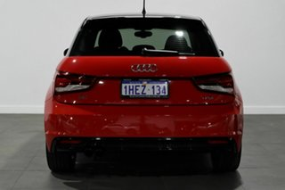 2016 Audi A1 8X MY16 S Line Sportback S Tronic Red 7 Speed Sports Automatic Dual Clutch Hatchback