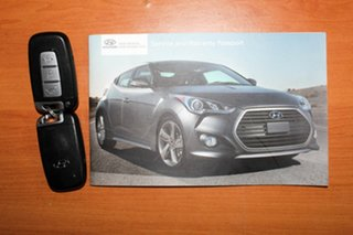 2014 Hyundai Veloster FS3 SR Coupe Turbo Black 6 Speed Sports Automatic Hatchback