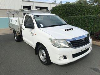 2012 Toyota Hilux KUN16R MY12 SR 4x2 Glacier 5 speed Manual Cab Chassis.