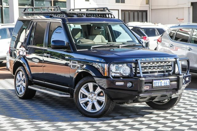 Used Land Rover Discovery 4 Series 4 L319 MY13 SDV6 HSE Attadale, 2013 Land Rover Discovery 4 Series 4 L319 MY13 SDV6 HSE Blue 8 Speed Sports Automatic Wagon